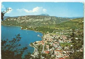 Italy, Garda, Panorama, 1979 used Postcard