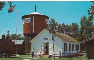 Nebraska MInden Pioneer Village One Room Country School Building