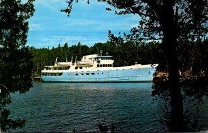 Michigan Isle Royale National Park M V Ranger III At Rock Harbor Lodge 1969