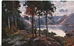 Cumbria Postcard - Derwent Water from Castle Head - A Bright Morning   EE813