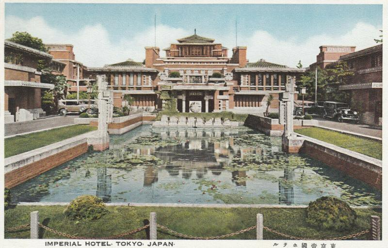 TOKYO , Japan , 20-30s; Imperial Hotel