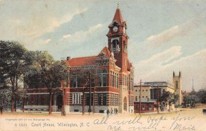 Wilmington North Carolina view of New Hanover Co Court House antique pc ZE686141