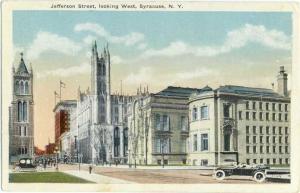 W/B Jefferson St. Looking West Syracuse NY New York State