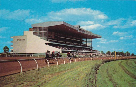 Canada Horse Racing Woodbine Race Course Toronto Ontario