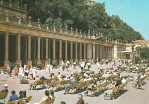 Colonnade of the Czechoslovak Soviet Friendship, Karlovy Vary, Czech Republic
