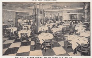 NEW YORK CITY , 1930-40s ; Dixie Hotel , Dining Room