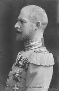 Royalty S.A.R. Prince Charles de Hohenzollern, Karl Anton, Side Portrait 1909