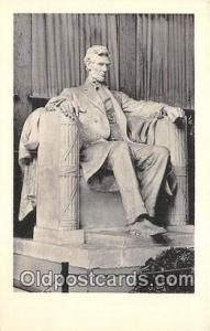 Stockbridge, Mass, USA Seated Lincoln