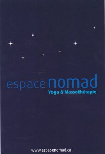 Espace Nomad Yoga and Massotherapie Montreal Canada