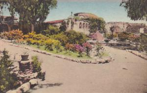 Front Garden Old Pepper Tree Looking East Old Mission San Juan Capistrano Cal...
