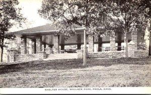 Kansas Paola Wallace Park Shelter House