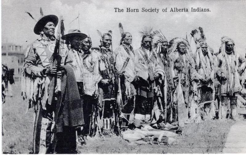 The Horn Society of Alberta Indians, 1908