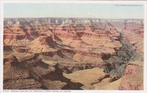 Arizona Grand Canyon View From Hotel El Tovar Detroit Publishing
