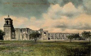 TX - San Antonio. Mission Concepcion de Acuna (Second Mission)