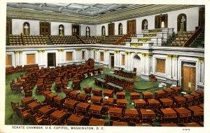 DC - Washington. Capitol Building, Senate Chamber