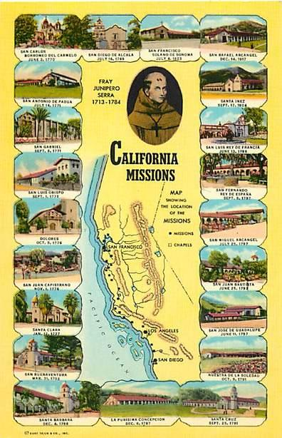 California Missions Map Card CA Chrome / HipPostcard on southern california road map, ca beaches map, fremont ca map, long beach ca neighborhood map, ca regions map, north county san diego map, ca resources map, san diego de alcala map, tiimeline 21 california mission map, ca travel map, ca county map, san francisco de solano map, ca college map, cape mendocino ca map, ca mountain ranges map, morongo reservation map, san luis rey ca map, cabazon ca map, blank california mission map, so calif map,