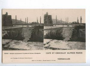 193146 IRAN Persia CHOCOLAT ADVERTISING Old stereo postcard