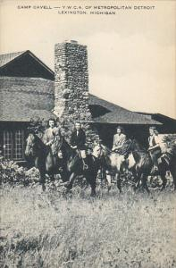 Horseback Riding At Camp Cavell Y W C A Of Metropolitan Detroit Lexington Mic...