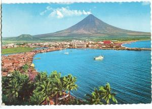 Philippines, Legaspi City at the Foot of the Beautiful Mt. Mayon, 1980 used