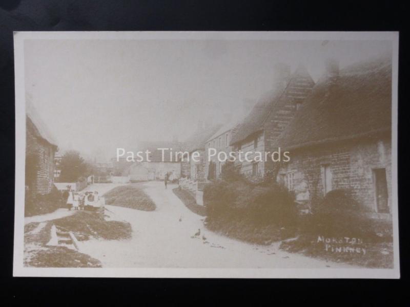 Northamptonshire: Moreton Pinkney (Scene 1) - Reproduction Postcard