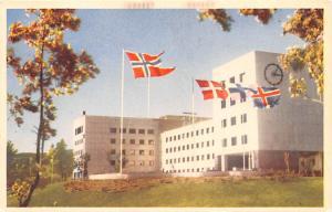 Sweden Old Vintage Antique Post Card Oslo Broadcasting Studio Kringkastingshu...