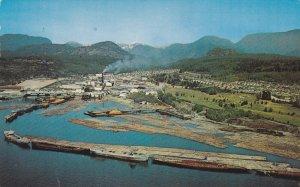 Newsprint Mill, POWELL RIVER, B.C. , Canada , PU-1964