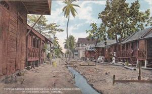 Panama Colon Typical Street Scene Before The American Occupatiopn Of The Zone...