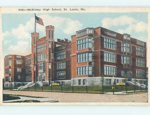 Unused W-Border HIGH SCHOOL St. Louis Missouri MO k0151