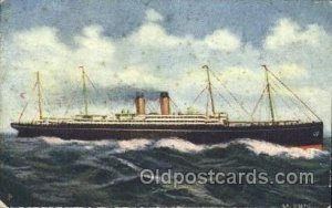 S.S. Bathic Steamer, Steamers, Ship Unused light crease left bottom corner ti...