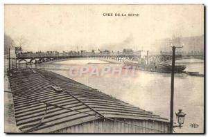 Paris Postcard Old Crue of the Seine