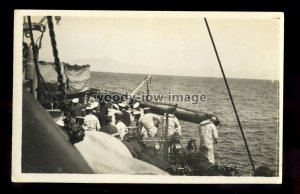 WL1921 - Royal Navy Warship - HMS Nelson - postcard