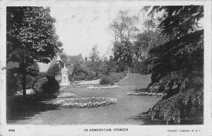 BR99540 in arboretum ipswich real photo  uk