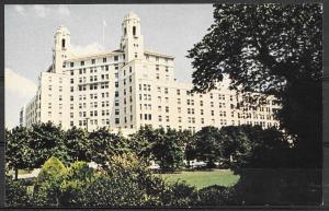 Arkansas, Hot Springs, Arlington Hotel, 1987 date written on back.