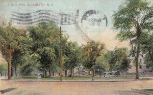 ELIZABETH , New Jersey , 1910 ; Public Park