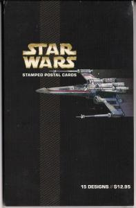 #UX489-503 - Star Wars - Postal Card Set - Mint