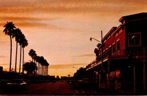 Arizona Scottsdale Main Street At Sundown