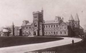 RP: TORONTO , Ontario , 1907 ; Toronto University