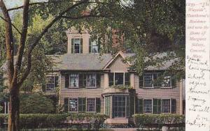 The Wayside, Hawthorne's Residence & Now The Home Of Margaret Sidney, Conco...