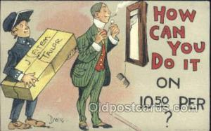 How can I do it Artist Dwig, Dwiggens, Postcard Post Cards How can I do it Ho...