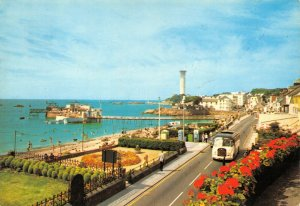 Vintage Jersey Postcard, Havre Des Pas, Classic Bus FQ5