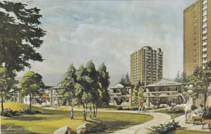 CALGARY, Alberta, Canada, 1940-1960's; Glenmore Garden Apartments
