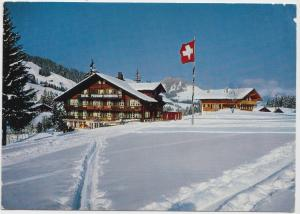 Hotel Hornberg Saanenmoser, Switzerland, used Postcard