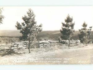 Pre-1942 rppc NICE VIEW Shepherd Of The Hills - Branson Missouri MO i6037