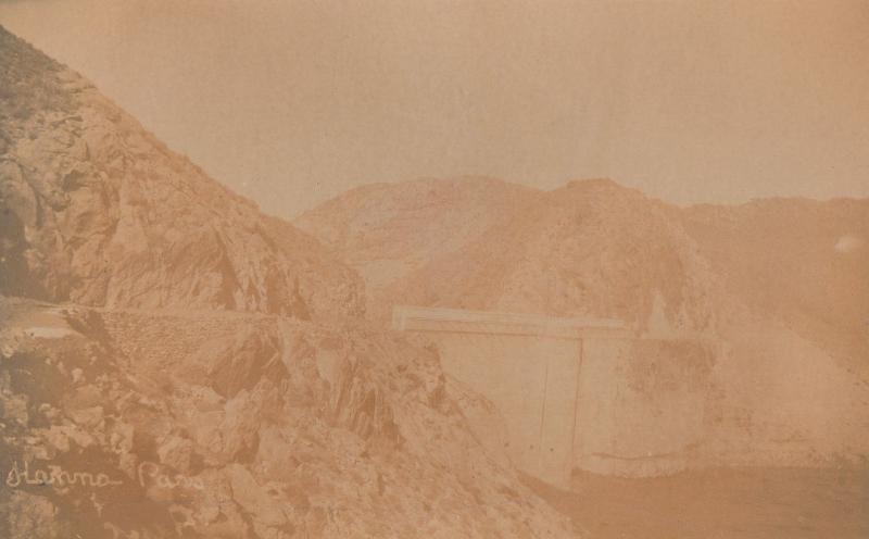 Hannah Bridge Afghan Afghanistan Water Drought Old RPC Postcard