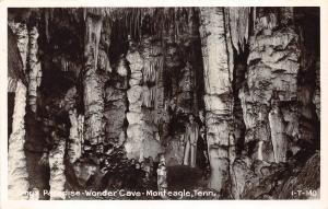 E25/ Monteagle Tennessee Tn Postcard Real Photo RPPC c50s Wonder Cave Onyx