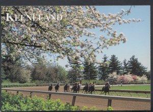 America Postcard - Horse Racing - Keeneland Race Course, Lexington, Kentucky ...