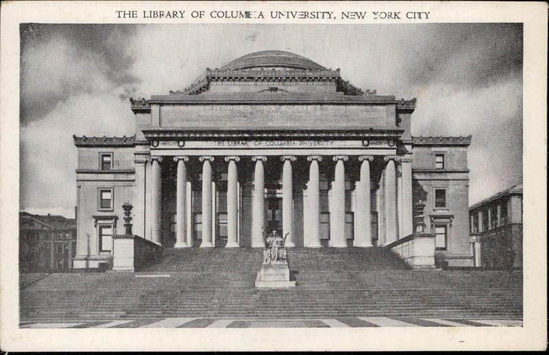 Library of Columbia University New York City New York