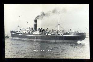 bf984 - Brocklebank Cargo Ship - Maihar - postcard by B Feilden