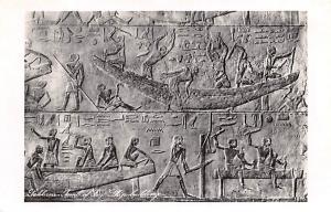 Sakkarah Egypt, Egypte, Africa Tomb of Ti, Ship building Sakkarah Tomb of Ti,...