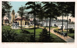 Bottling, Packing & Store Houses, Poland Spring, Maine, Early Postcard, Unused